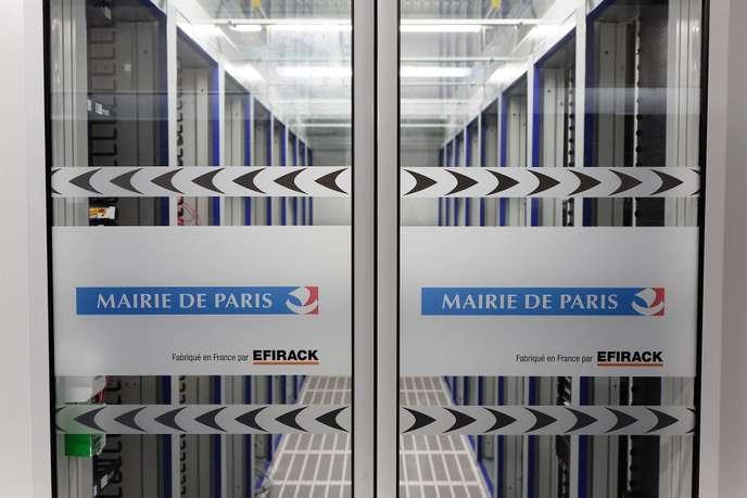 data center mairie de paris