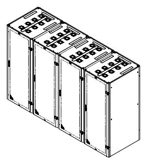 Access Multiple avec toits et portes