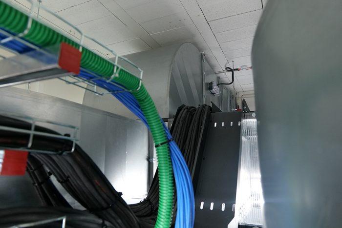 Chemin de cable intertravée