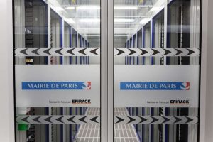 Nouveau data center de la Mairie de Paris